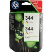 HP 344 Inkjet Cartridge 3-Colour Pk 2 C9505EE