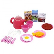 ZERBO PRETEND Breakfast and Lunch Mini Cooking Food Set Toy For Kids Imaginary Play Time