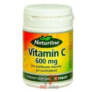 NATURLINE - VITAMÍN C 600 mg, 30tbl