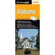Universal Map Alabama Fold Map (Set of 2) 10499