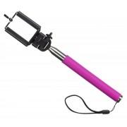 Selfie stick KitVision Splash SPSSPI cu suport de telefon (Roz)