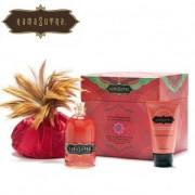 Boîte aux trésors, produits de massage goût Fraise Kamasutra