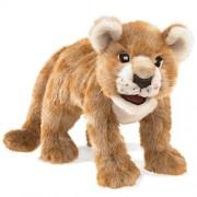 Folkmanis African Lion Cub Hand Puppet Plush 3064