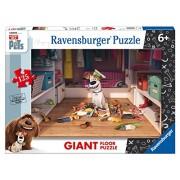 Ravensburger Italy 09785 2 - Puzzle Secrets Life of Pets, 125 Pezzi Giant