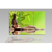 Digital Art vászonkép | 1207-S Buddha Tranquility THREE