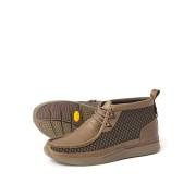 【50%OFF】Tawyer Stealth レザーx テキスタイル チャッカブーツ カーキ 90 ファッション > 靴~~メンズシューズ