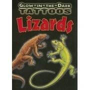 Glow-in-the-Dark Tattoos Lizards by Christy Shaffer
