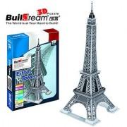 Buildream 3d Eiffel Tower Puzzle