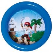 Banheira Inflável Infantil 60 Litros Azul Pirata - MOR