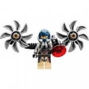 Lego Ultra Agents Psyclone Super Villain Minifigure W/ Backpack And Blaster Accessories
