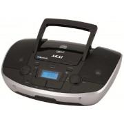Microsistem audio Akai APRC-108, MP3 player, Radio FM, Bluetooth, USB (Negru)