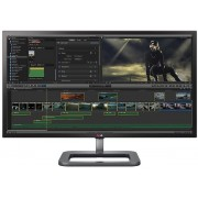 "Monitor IPS LED LG 31"" 31MU97Z-B, 4K (4096 x 2160), HDMI, Display Port, Mini DisplayPort, Thunderbolt, 5 ms GTG, Boxe, Pivot (Negru) + Bitdefender Antivirus Plus 2017, 1 PC, 1 an, Licenta noua, Scratch Card"