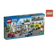 Ghegin Lego City Stazione Di Servizio 60132