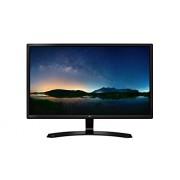 LG 27MP58VQ-P 27 inch Class Full HD IPS LED Monitor (1920 x 1080 @ 60 Hz) / Antiglare Coating / Sleek Cut Design / Black Solid Arcline Stand / Flicker Safe / 4-Screen Split / Flicker Safe / Black Stabilizer