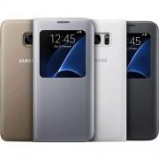 Samsung Pokrowiec na telefon Samsung EF-CG935PSEGWW, Pasuje do modelu telefonu: Samsung Galaxy S7 Edge, srebrny
