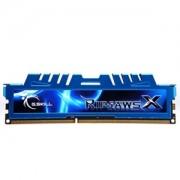 Memorie G.Skill RipJawsX 8GB (1x8GB) DDR3 PC3-12800 CL9 1.5V 1600MHz Intel Z97 Ready, F3-1600C9S-8GXM