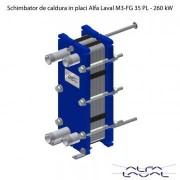 Schimbator de caldura in placi Alfa Laval M3-FG 35 PL - 260 kW
