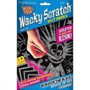 Scratch Art Wacky Scratch Silly Swirls Activity Kit