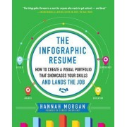 The Infographic Resume: How to Create a Visual Portfolio That Showcases Your Skills and Lands the Job by Hannah Morgan