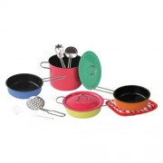 Gueydon Jouets Sas - 800410 - Jeu d'imitation - Cookware Set - 11 Pièces