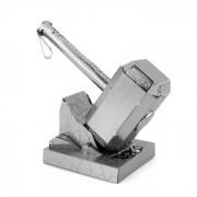 DIY 3D puzzle montado Juguetes educativos Modelo Hammer - plata