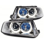 Faruri Angel Eyes VW Passat 3BG 00-05 crom