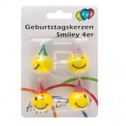 Smile gyertya 4 db 56105B