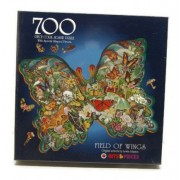 Field of Wings 700 Piece Jigsaw Puzzle with 26 Butterfly Shapes & Other Shaped Pieces by Bits and Pieces