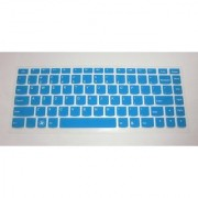 BingoBuy Semi-Blue High Quality Silicone Keyboard Protector Skin Cover for IBM Lenovo IdeaPad U300 U300s U310 U400 U410 U430 U430p Z400 P400 S300 S400 S405 YOGA 13-IFI Yoga 2 Pro Convertible Ultrabook(if your enter key looks like 7 our sk