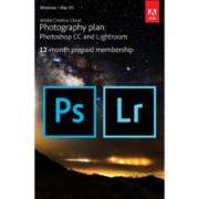 Adobe Creative Cloud pour la Photo - Abonnnement 1 an