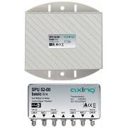 Axing SPU 52-00 - Conmutaor DiSEqC 2.0 compatible con Twin (5 entradas/2 salidas)