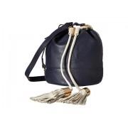 See by Chloe Vicky Small Bucket Bag w Crossbody Strap Midnight