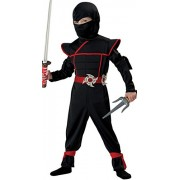 California Costumes Stealth Ninja Toddler Costume, 3-4