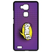 Coque Huawei Ascend Mate7 Monarch Smile Fond Mauve