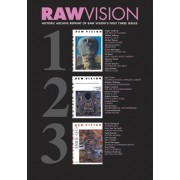 Raw Vision 123: Historic Reprint of Raw Vision's First Three Issues