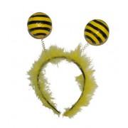 Bentita cu puf si antene albinuta - Cod 57598