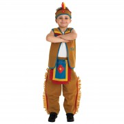 COSTUM DE CARNAVAL - INDIAN (883615)