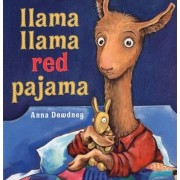 Llama, Llama Red Pajama by Dewdney Anna
