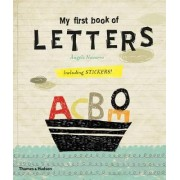 My First Book of: Letters by Angels Navarro