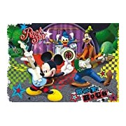 Clementoni Mickey Mouse Club House: The Rock And Roll Band 23637.4 Jigsaw Puzzle Maxi 104 Pieces