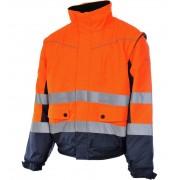 Modyf Blouson De Travail Würth Modyf 2 En 1 Haute-visibilité Orange/marine