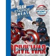 Marvel Captain America Civil War Draw Engage Create Sketchbook by Parragon Books Ltd