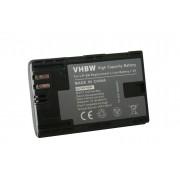 Batterie pour appareil photo CANON EOS 6D, 60D, 70D. Remplace le modèle LP-E6, également compatible avec prise batterie BG-E6 BG-E7-avec info-puce.
