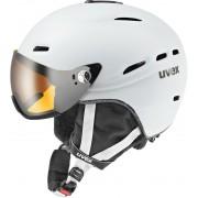 UVEX hlmt 200 Kask snowboard biały Kaski narciarskie