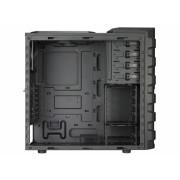 "CARCASA COOLER MASTER HAF 912 Advanced, mid-tower, ATX, 2* 200mm & 1* 120mm fan (inclus), I/O panel, black ""RC-912A-KKN1"""
