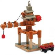 Thomas & Seine Freunde 98210 Wheezy - Gra giratoria con tren de madera