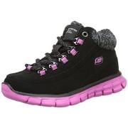 Ghetute hiker Skechers Elite negru roz
