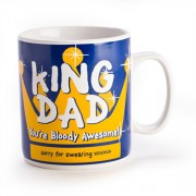"""King Dad Giant Mug"""