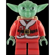 Lego Star Wars: Yoda Santa Tenue (Édition Limitée) Mini-Figurine