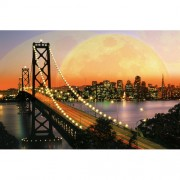 Puzzle San Francisco noaptea, 3000 piese, RAVENSBURGER Puzzle Adulti